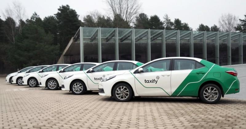 Подключение к новому такси Taxify 500р бонус.
